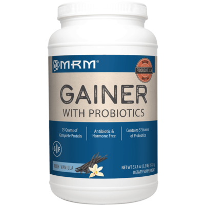 All Natural Gainer Vanilla 3.3lb (ALLVA)