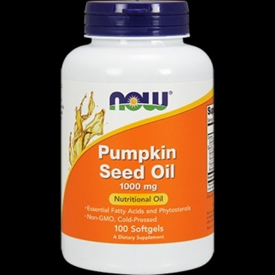 Pumpkin Seed Oil 1000 mg 100 softgels  (N1840)