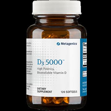 D3 5000 IU 120 SOFTGELS (EE D5000)