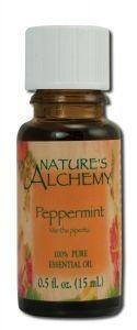 Peppermint essential oil 0.5 fl oz
