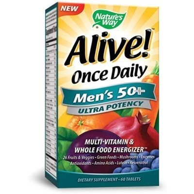 60 tab Alive Multi Men 50+ (PA153691)