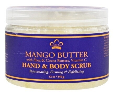 Hand & Body Scrub Mango Butter (SN 170303)