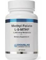 Methyl Folate L-5-MTHF 60 tabs
