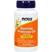 Evening Primrose Oil 500 mg 100 softgels (N1750)