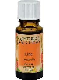 Lime essential oil 0.5 fl oz