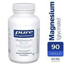 MAGNESIUM (GLYCINATE) 120 MG 90 VCAPS (EE MAG49)