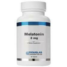 MELATONIN 3MG 60TABS (EE mel15)