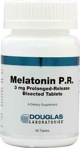 Melatonin PR 3 mg 60 tabs  (MEL16)