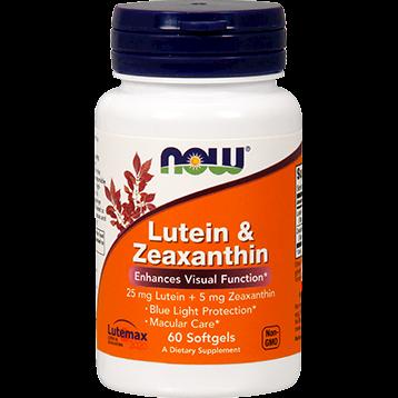 Lutein & Zeaxanthin Now Labs (N30641)