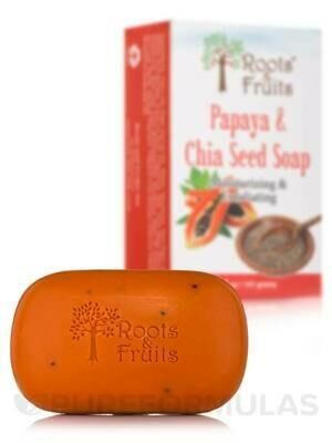 Papaya Chia Seed Soap  5 outs