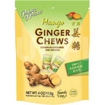 Ginger Chews Candy; Mango (SN 244898-3)