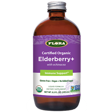 Elderberry+ Liquid Formula 8.5 fl oz (EE  F28041)
