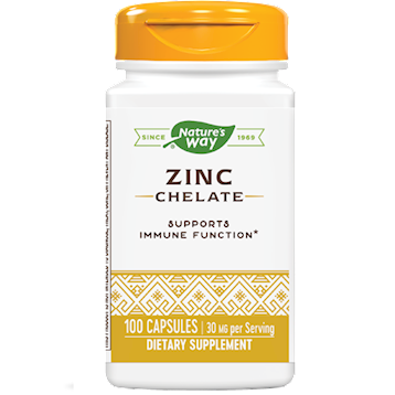 Zinc 30 mg 100 caps (EE ZINC)