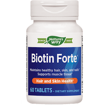 Biotin Forte 5 mg without Zinc 60 tabs (EE NW7514)