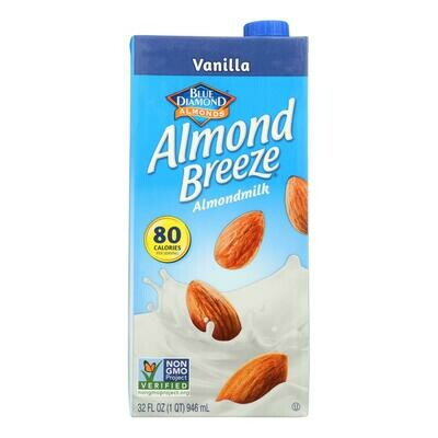 Almond Breeze - Almond Milk - Vanilla  32 fl oz. (EO 0933994)