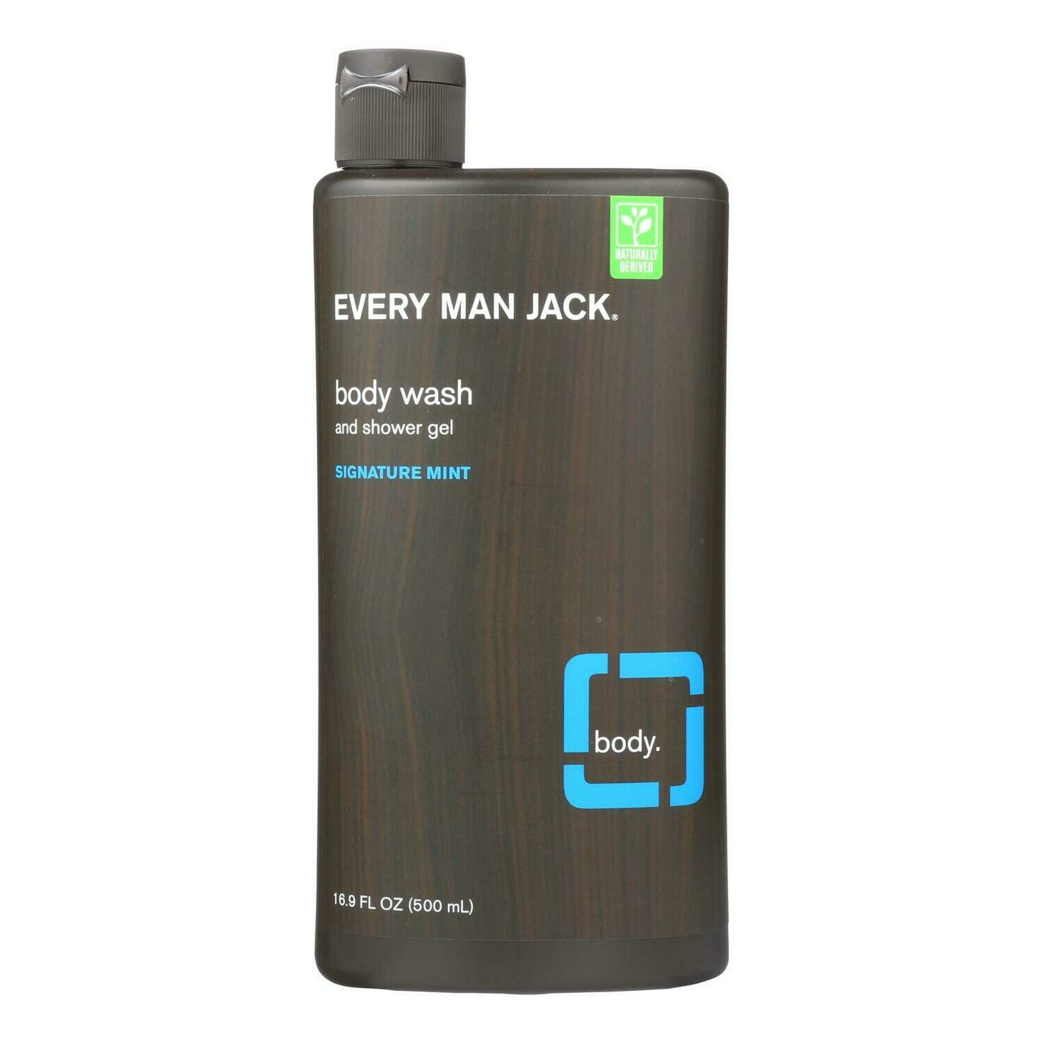 Every Man Jack Body Wash - Signature Mint - 16.9 oz (EO 0516500)