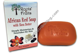 African Red Soap 5oz. (515015)