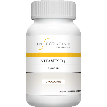 Vitamin D3 5,000 IU Choc. Flavor 90 tabs (VID26)