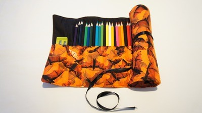Hand Made Pencil Roll