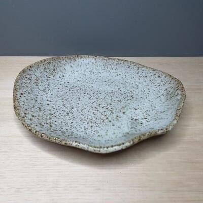 Ocean Foam wheel thrown Plates