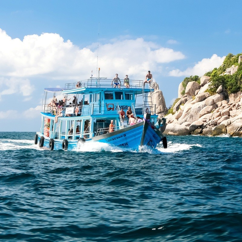 Morning Tour Including Nagyuan Island Landing Fee