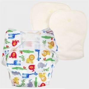 One size diaper - Wildlife