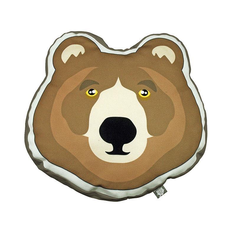 Cushion Brown Bear