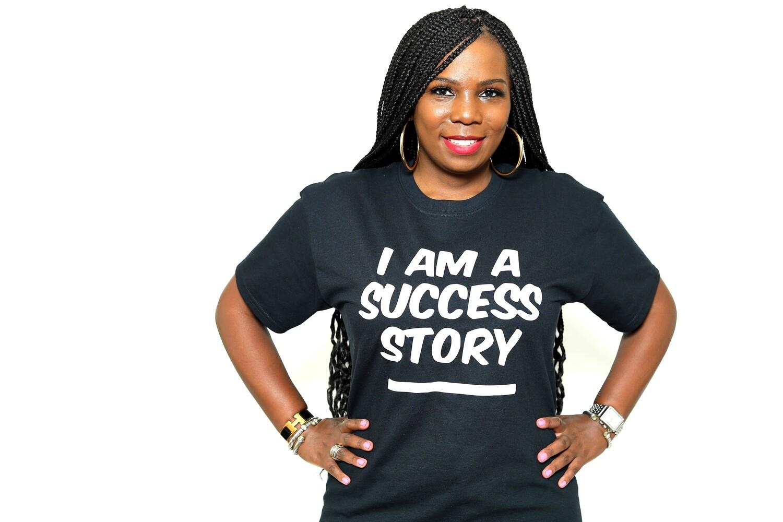 """I am a Success Story"" T-Shirt (Adult Edition)"