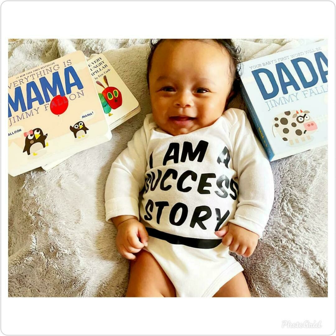 """""""I am a Success Story"""" T-Shirt (Baby Edition)"""