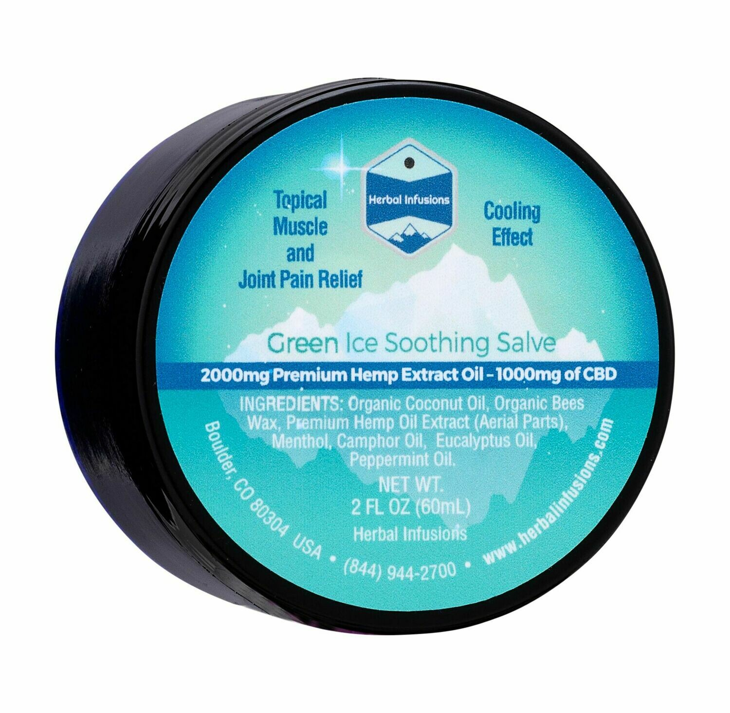 Green Ice Soothing Hemp Extract Salve