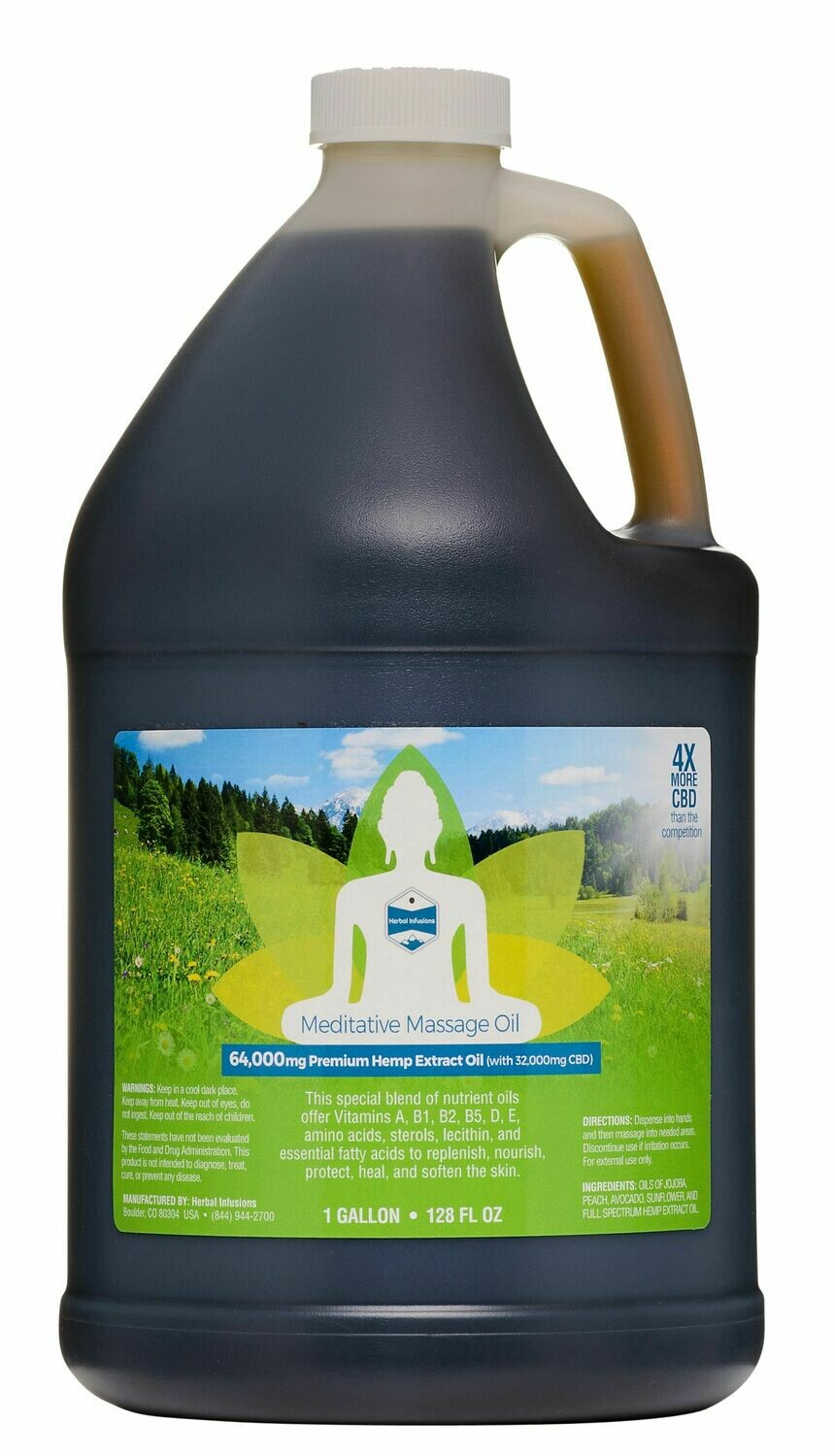 Meditative Massage Oil - GALLON