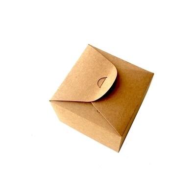 Крафт-коробка 9*9*6 см (мини)
