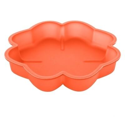 Форма силиконовая для выпечки Торта или Кекса | Клевер 230*40 мм