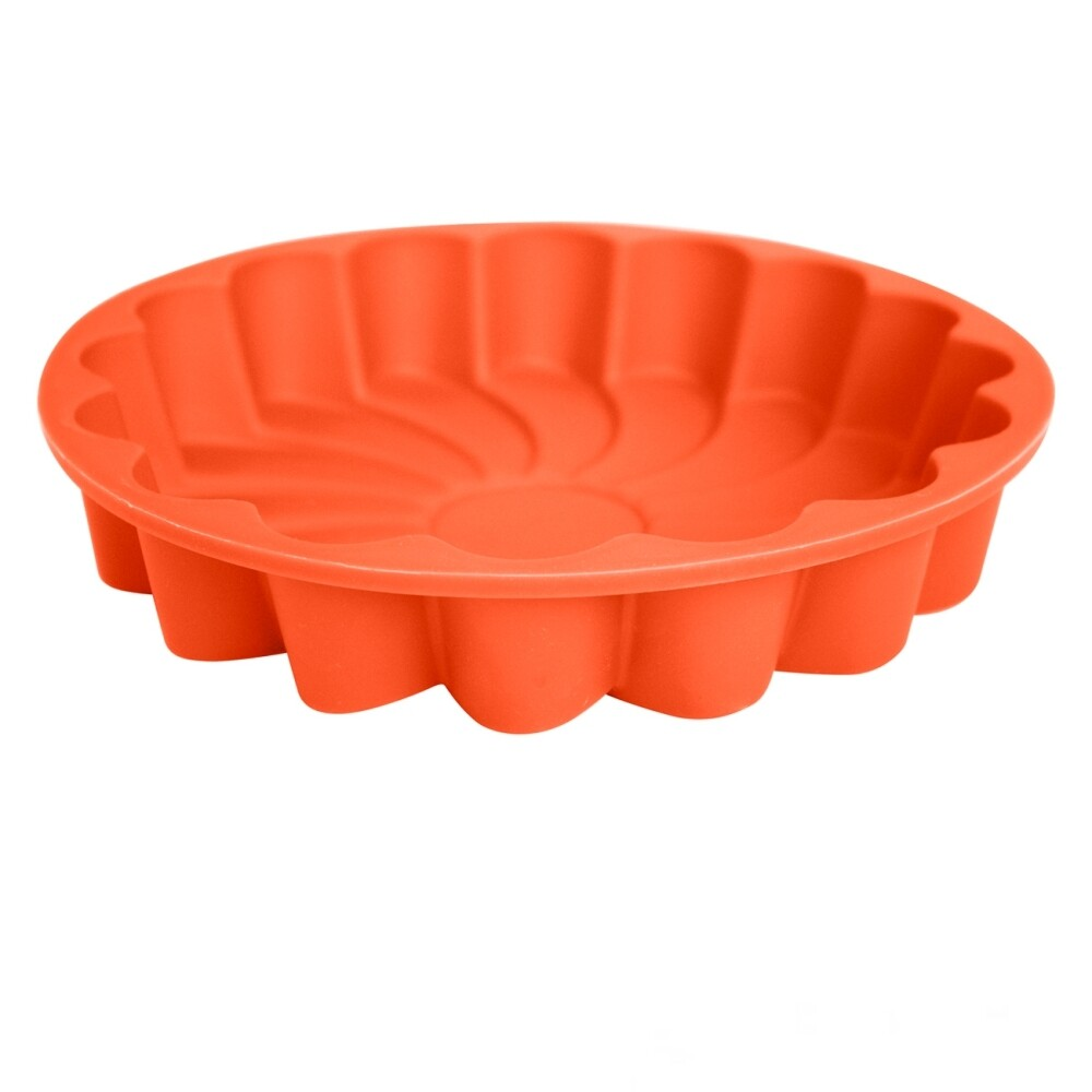 Форма силиконовая для выпечки Торта или Кекса | Ромашка 3D 230*45 мм
