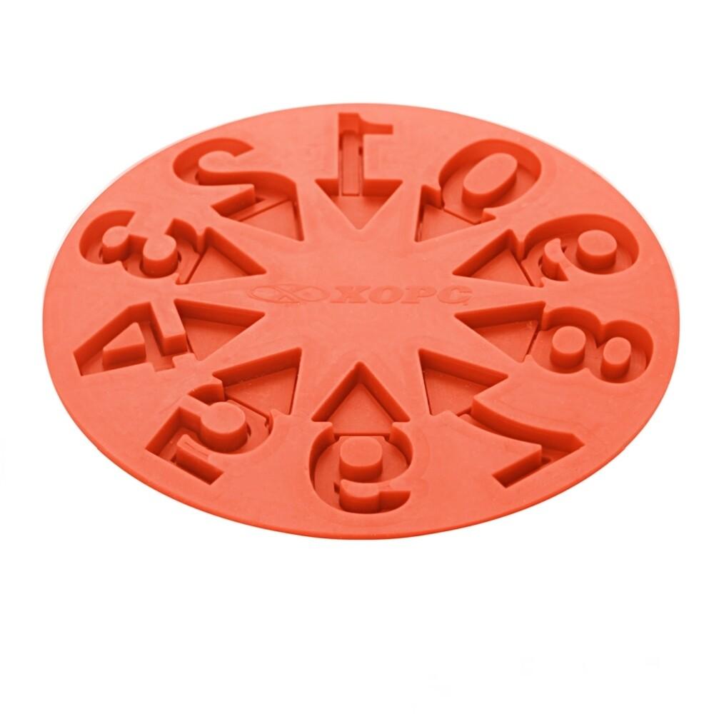 Форма силиконовая цифры 0-9 | 188*9 мм