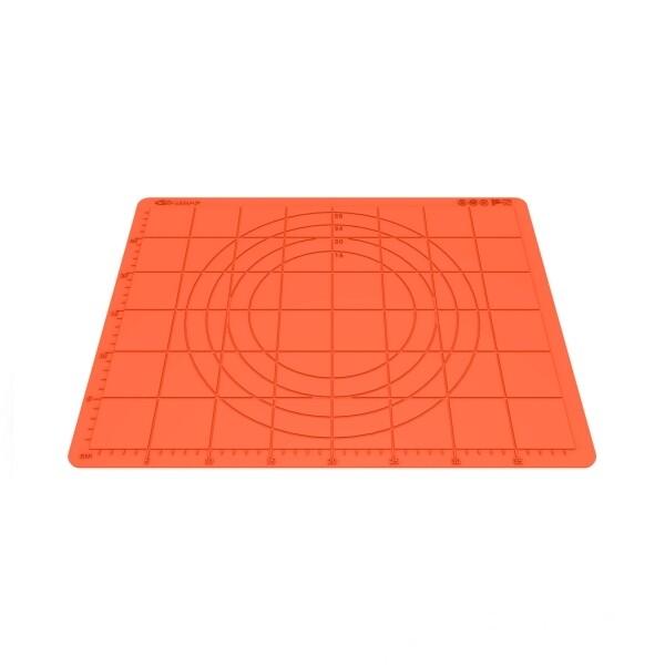 Коврик для раскатки теста силиконовый (размер 43*33 см)