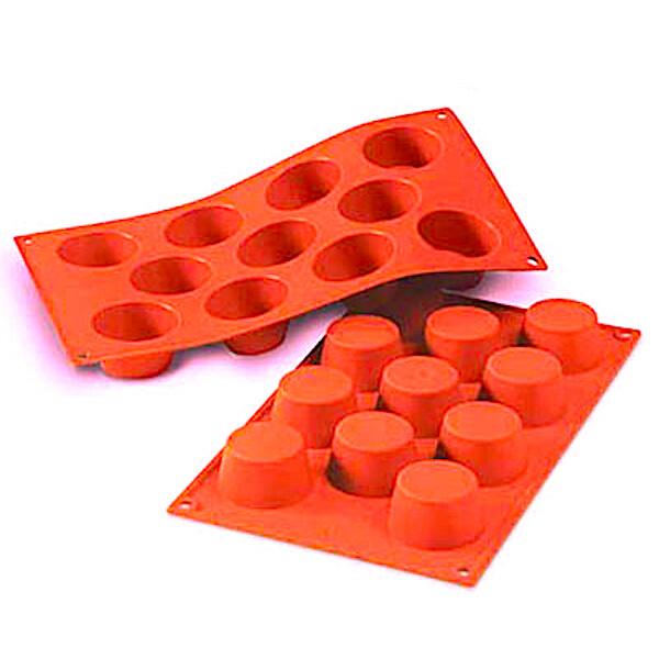 Форма для выпечки силиконовая Миникекс 11 фигур 48*25 мм