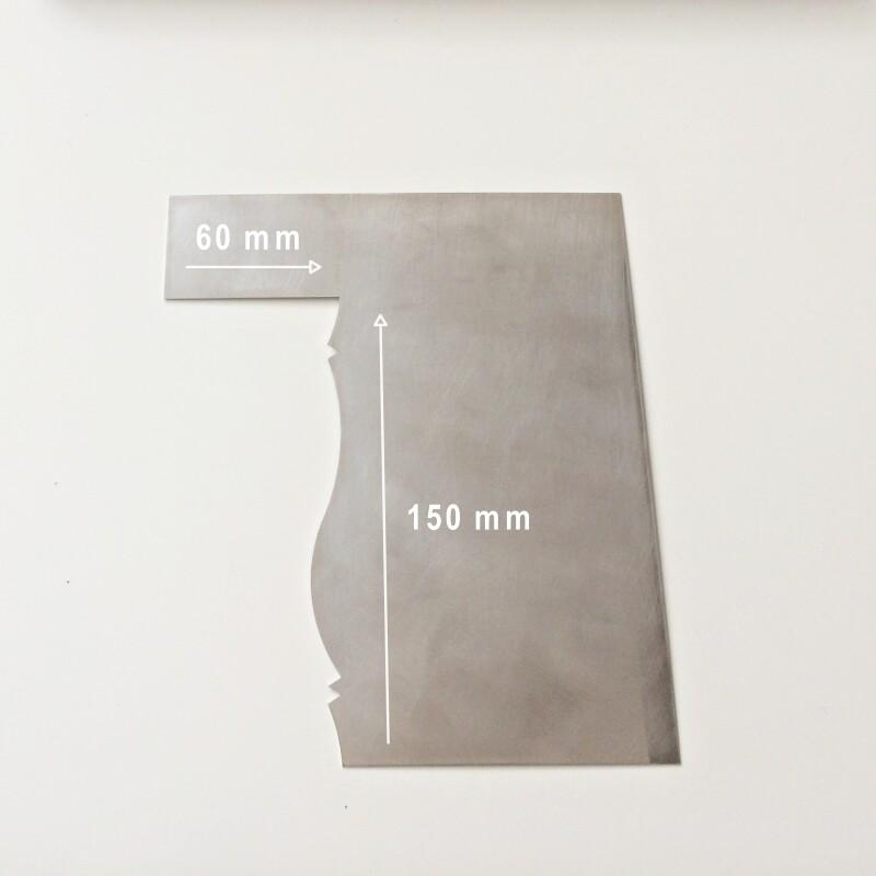Шпатель №2 контроль крема 150*60 мм   Вихрь