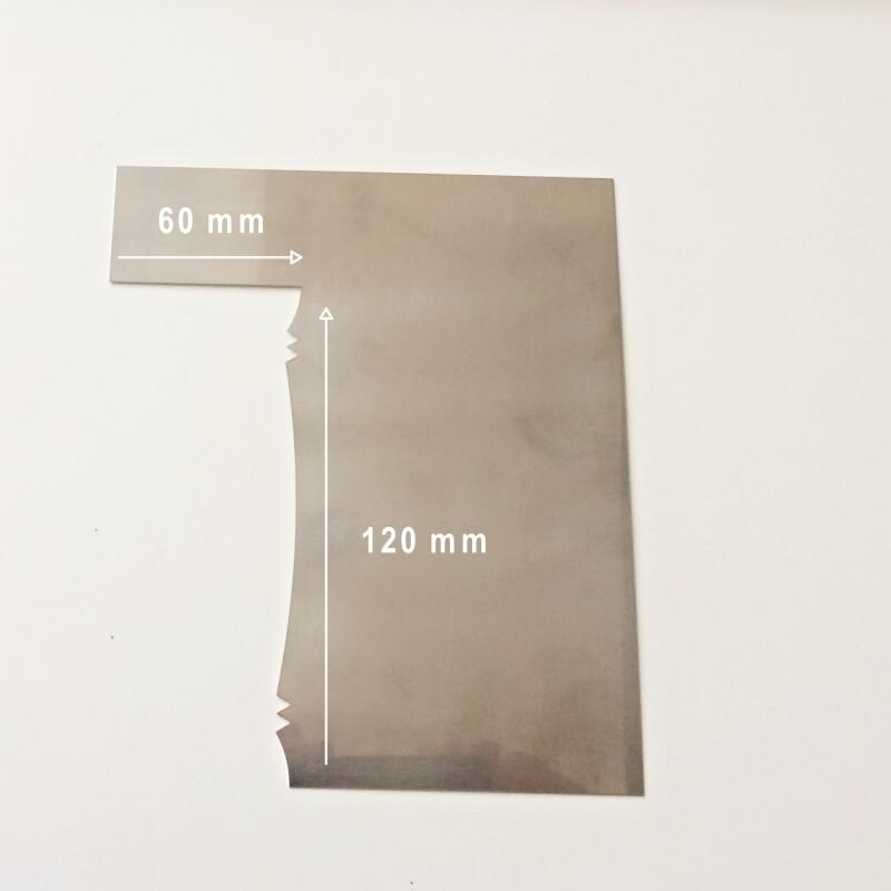 Шпатель №3 контроль крема 150*60 мм | Гребень