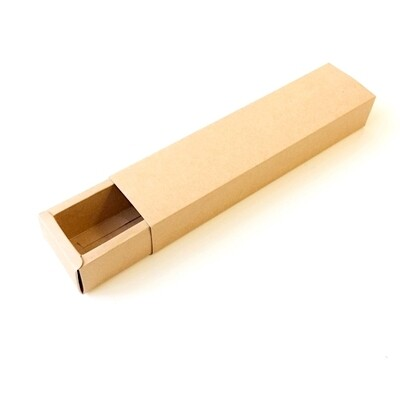Коробка-пенал для макарони 24*4*4 см крафт-картон | упак. 10 шт