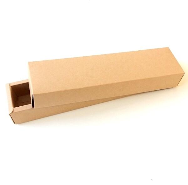 Коробка для макарони 24*4*4 см крафт-картон   упак. 10 шт