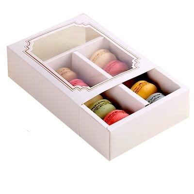 Коробка-пенал для макарони 14*11*5 см | упак. 10 шт