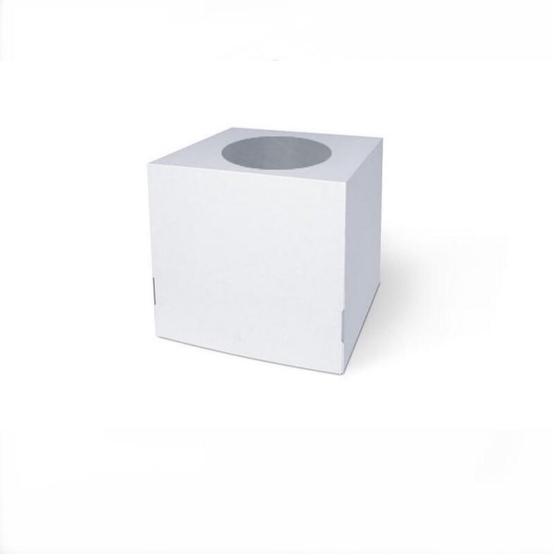 Коробка с окном для торта 30*30*30 см   упак 10-50 шт