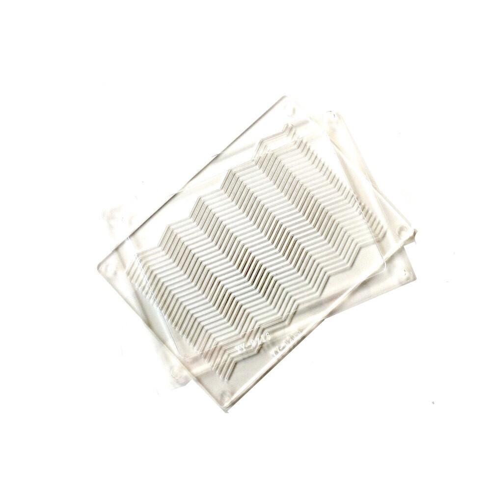 Поликарбонатная Рельефная форма для шоколада 210*105*20 мм | Волна