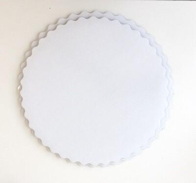 Подложка под торт двух-сторонняя белая/белая 1.5 мм Ø 26-38 см | упак. 10 шт