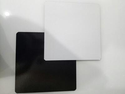 Подложка под торт двух-сторон. белая/чёрная толщина 0.8 мм Квадрат | упак. 10 шт