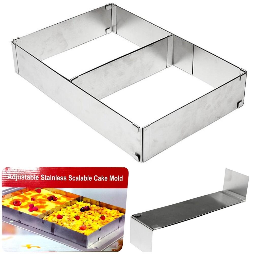 Форма для выпечки металлическая раздвижная |18-54, высота 5 cм