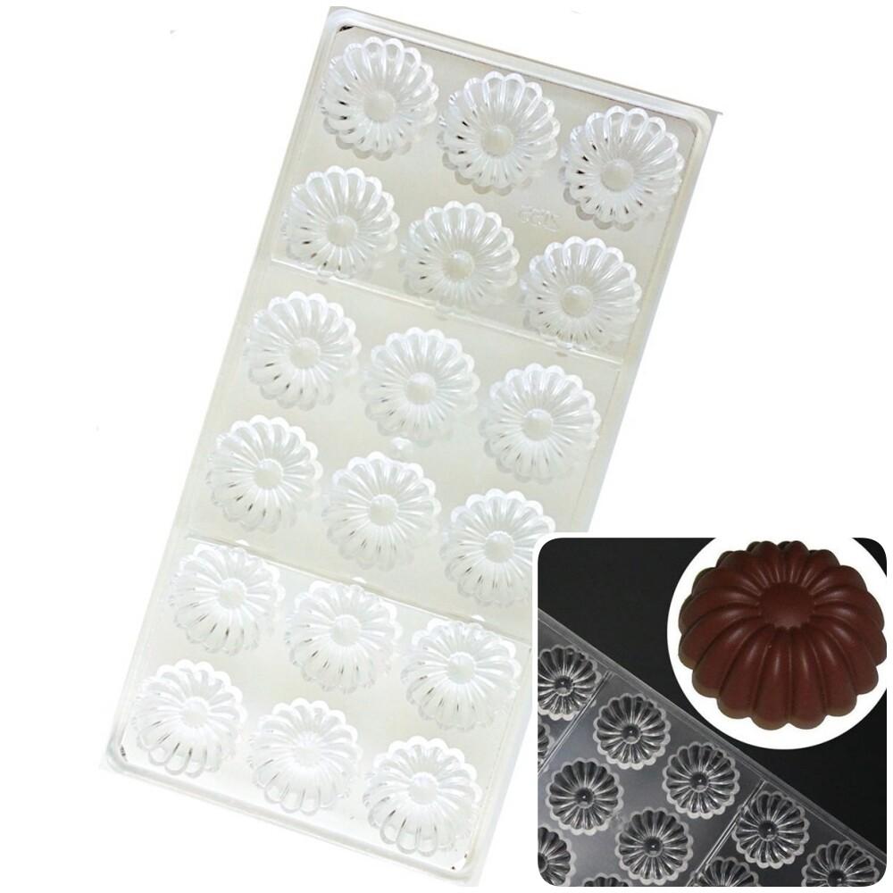 Поликарбонатная форма для шоколада 275*135*24 мм | Саварин мод.2155