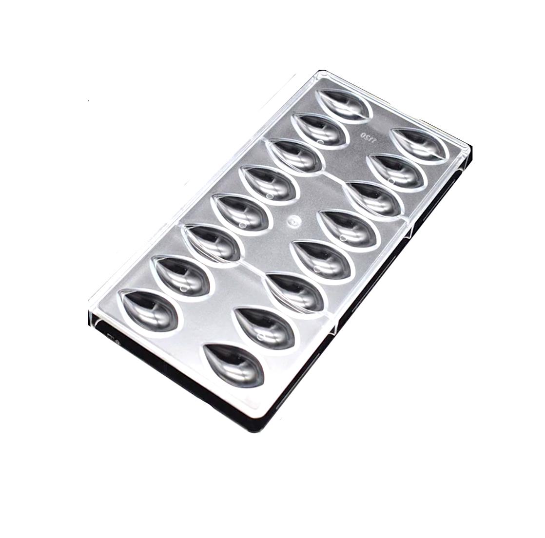 Поликарбонатная форма для шоколада 275*135*24 мм | Капля мод.1120