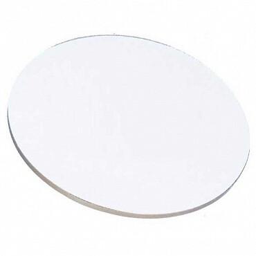 Поднос под торт белый многоразовый Ø 28-40 см | толщина 5  мм